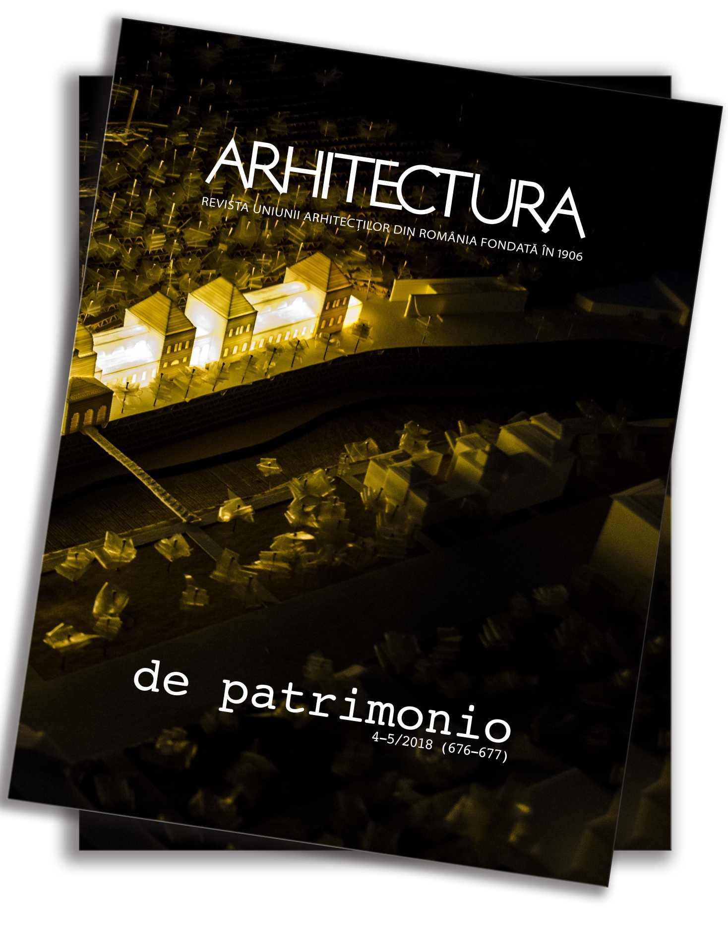 Arhitectura nr. 4-5/ 2018