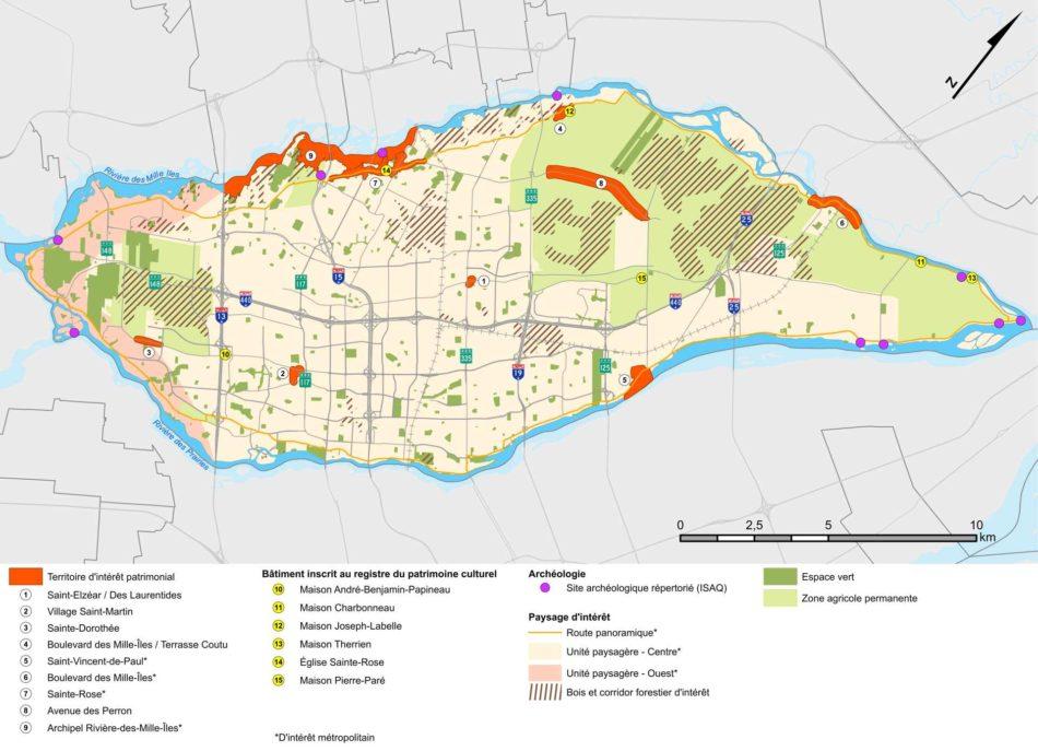 Teritoriul de interes al orașului Laval