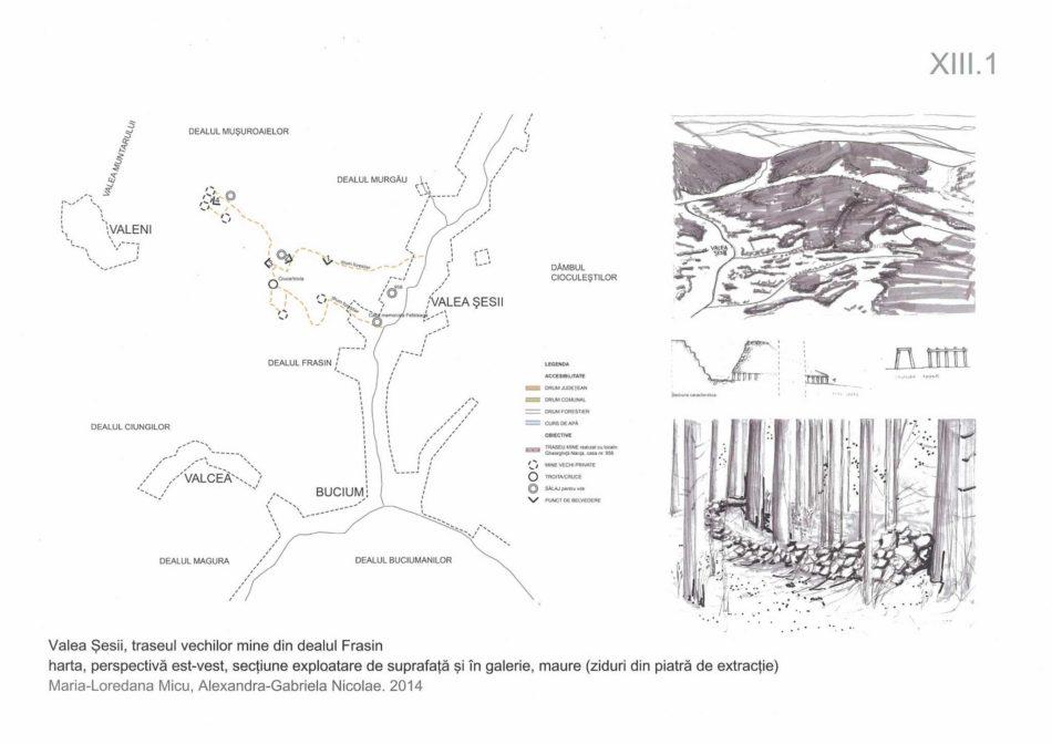 XIII.1_Valea Sesii_harta mine Frasin