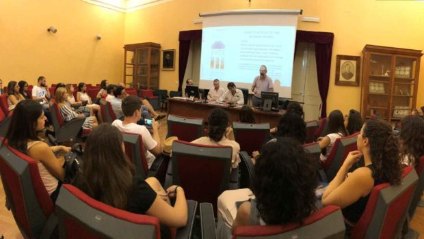 VVITA team at Ice breaker Meeting at the Botanic Garden: C4/C5 VVITA Didactic Module of Intensive School — in September 2018, Catania, Italy.