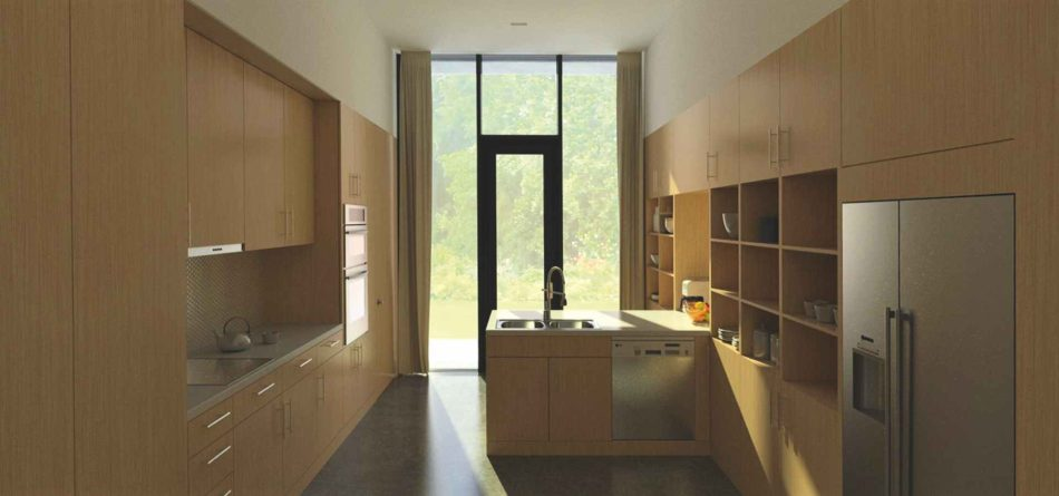11_Bucatarie-O casă unifamilială cu spațiu de lucru