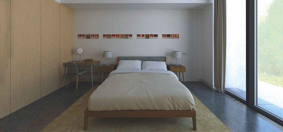 12_Dormitor-O casă unifamilială cu spațiu de lucru