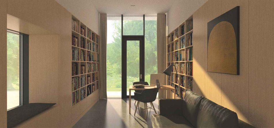 8_Birou-O casă unifamilială cu spațiu de lucru