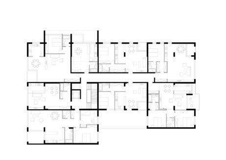 Imobil de apartamente Calea Dudesti etaj 2