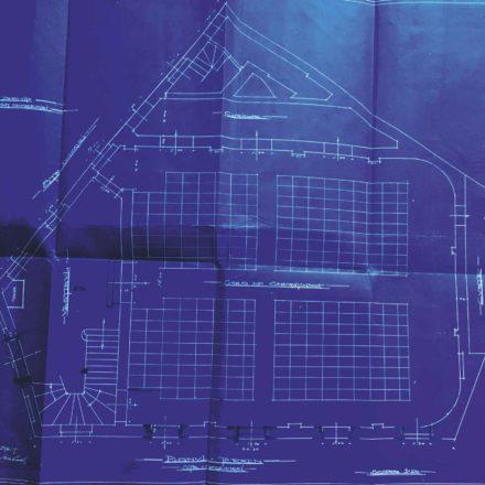Planul Cinematografului Lux,  sursa: ARHIVELE NAȚIONALE, PMB TEHNIC 143/1913