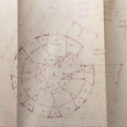 Imobilul Adriatica Sursa: ARHIVELE NAȚIONALE, PMB TEHNIC 21187/1935
