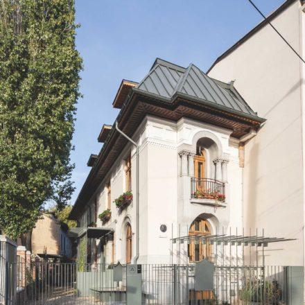 Restaurarea, reamenajarea sediului filialei teritoriale a Ordinului Arhitecților din România (București, 2015-2017) STARH - Birou de arhitectură (Florian & Iulia Stanciu)