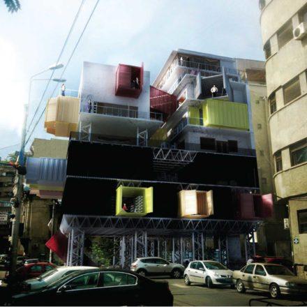 Locuirea colectivă în zonele centrale ale orașelor - (București)