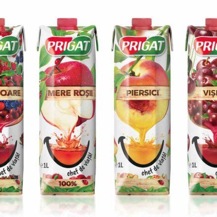 Rebranding Prigat tetrapak 2014