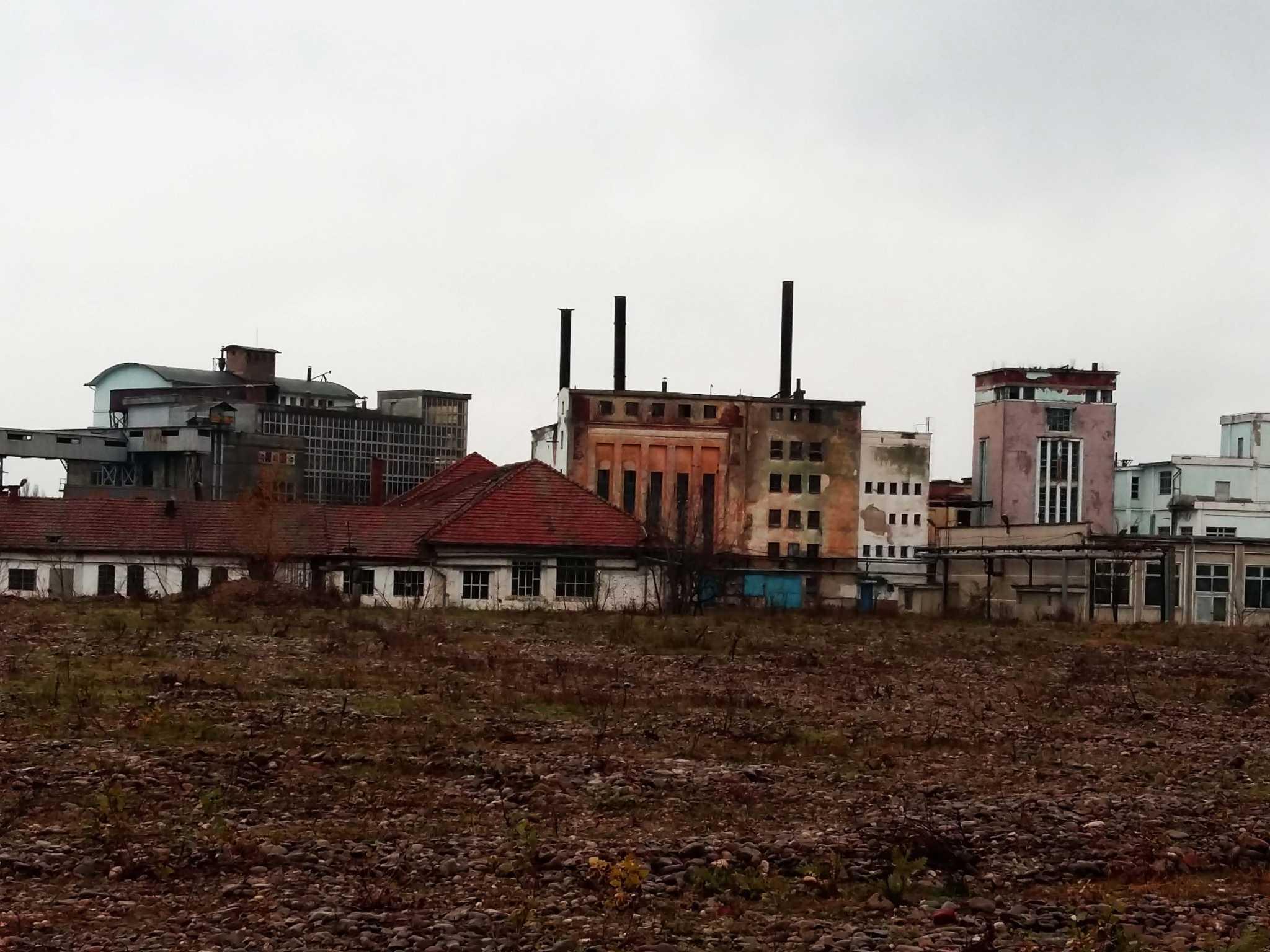 Ansamblul arhitectural al Fabricii de ulei, în prezent - sursa foto: arhivă personală