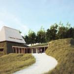 Studii si proiecte finalizate si nerealizate - O casa la Salicea