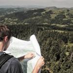 1. Prospecție pe teren, pe drumul spre Detunatele, UdV Bucium, ediția 2012 ©RPER