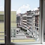 "Vedere ""de pe colț"" asupra străzii Rue Centrale, parcela B"