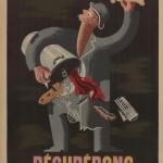 Pour faire du neuf avec du vieux. Récupérons Affiche, Jean Picart-Ledoux, France, n. d. Collection Bibliothèque internationale de documentation contemporaine (BDIC) © DR