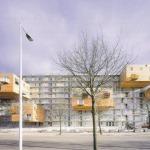 Proiect de extindere în consolă propus de MVRDV în Amsterdam-Osdorp, Olanda)