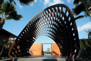 Pavilion intrare/ Entry Pavilion © Belzberg Architects