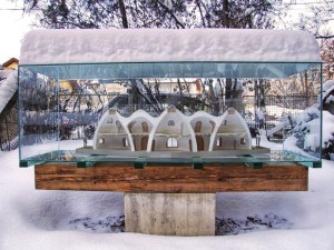 Machetă iarna © Echipa Raum