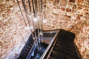 Spațiul interior al Turnului Ștefan, restaurat și redeschis publicului