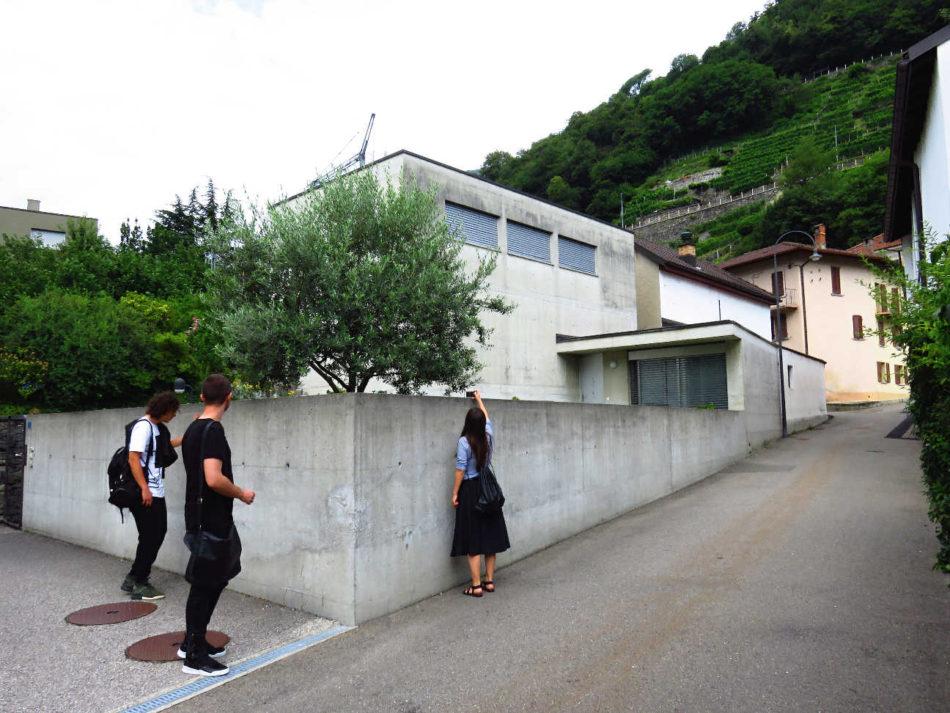 Casa Morisoli, Monte  Carasso,1988