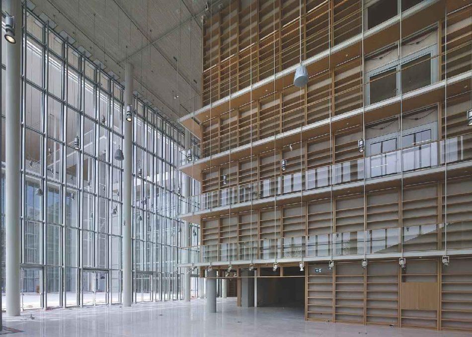 Lobby bibliotecă