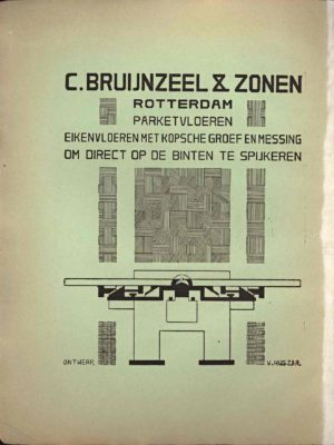 De Stijl, nr. 1 - 1917, coperta 2