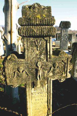 Fig. 33 Cruce de secol XIX, cimitirul parohial Ştefăneşti, Călăraşi