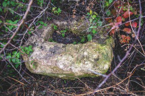 Fig. 7 Talpa (piua) crucii din Fig. 3, Odaia, Călăraşi