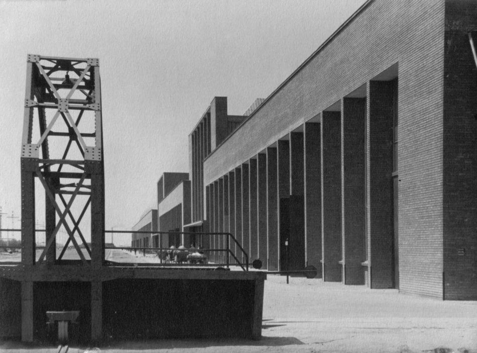 Fabrica de locomotive, detaliu, 1939