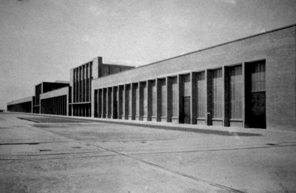 Fabrica de locomotive, unificarea fațadelor, 1939