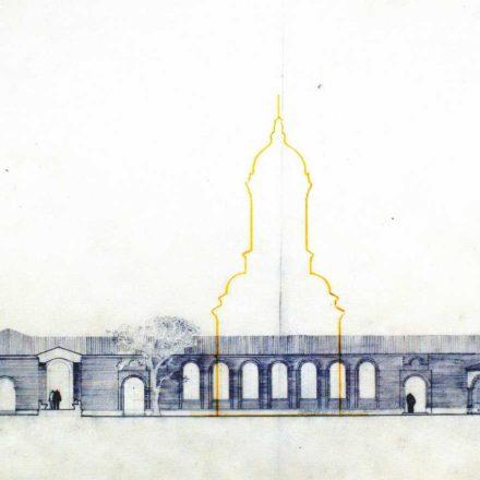 Mănăstirea Dealu, proiect Ioana Grigorescu și Nicolae Diaconu, 1955