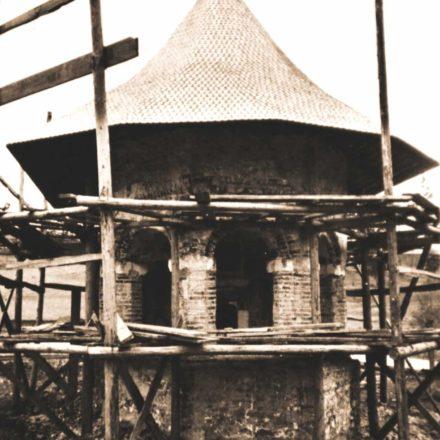 Mănăstirea Dragomirna,  biserica mică, 1969