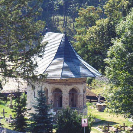 Mănăstirea Dragomirna,  biserica mică, 2017