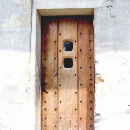 Mănăstirea Sucevița, detaliu ușă