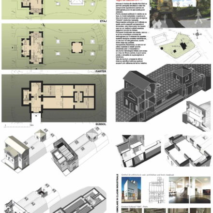 Centrul de cultura urbana si arhitectura-propunere