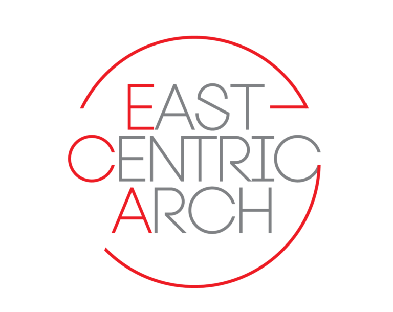 East centric arch banner