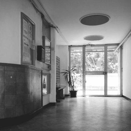 Union (Lăzărescu) building, prospects access hall (2017)