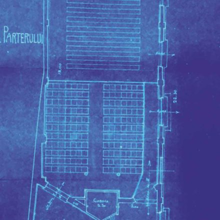Secțiunea cinematografului Apollo, sursa: ARHIVELE NAȚIONALE, PMB TEHNIC 348/1912
