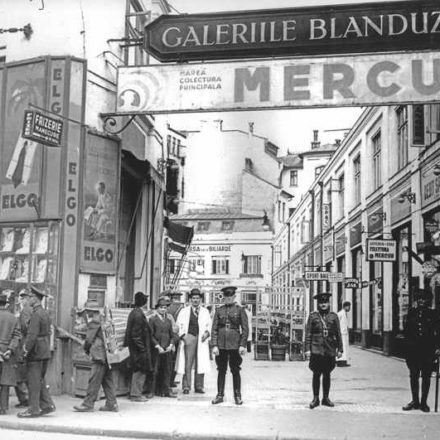 Galeriile Blanduziei, Strada Doamnei, nr. 7, cca. 1940. Sursa foto: Arhiva Agerpres