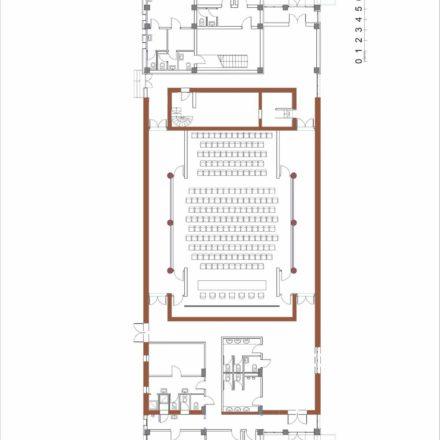 Cinema ARTA. Plan parter