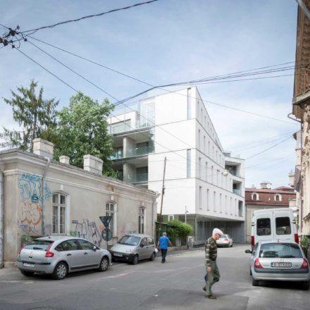 Imobil de apartamente pe strada Aaron Florian, București, finalizat 2010-2015