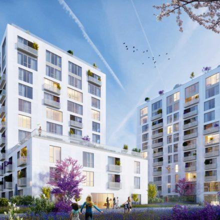 Complex de apartamente Aviației Park, str. Căpitan Alexandru Șerbănescu, în construcție, 2017-2020