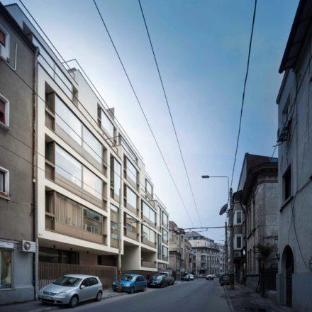 Imobil de apartamente pe strada Occidentului, București, finalizat 2014-2017