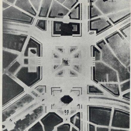 "Al. Zamphiropol, Al. Hempel: proiect recompensat cu premiul III. Sursa: ""Arhitectura"", nr. 8, 1937, p. 26"