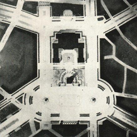 """Al. Zamphiropol, Al. Hempel: proiect nr. 8 - plan  Sursa: """"Arhitectura"""", nr. 7, 1936"""