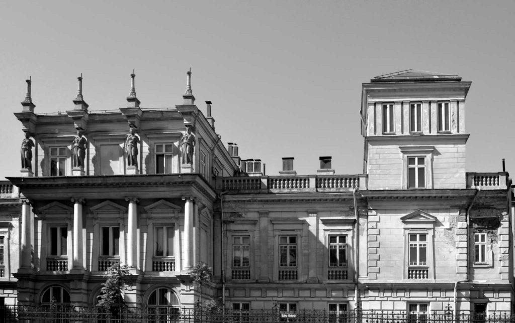 Palatul din Calea Victoriei, București, circa 1835, arh. Michel Saint-Jourand sau Sanjouand, amplificat prin 1881, arh. Friederich Hartmann