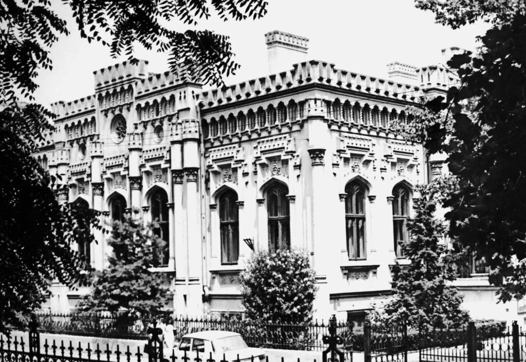 Casa Liebrecht, București, după 1860, arh. Anton Lipizer