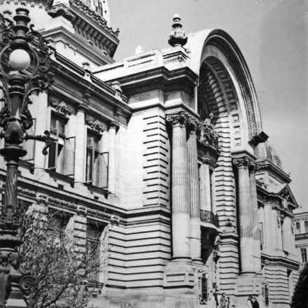Palatul CEC din Calea Victoriei, București, 1896-1900, arh. Paul Gottereau