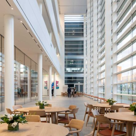 Proiect: Cleveland Clinic Medical School, Ohio, Copyright holder: Nigel Young / Foster + Partners